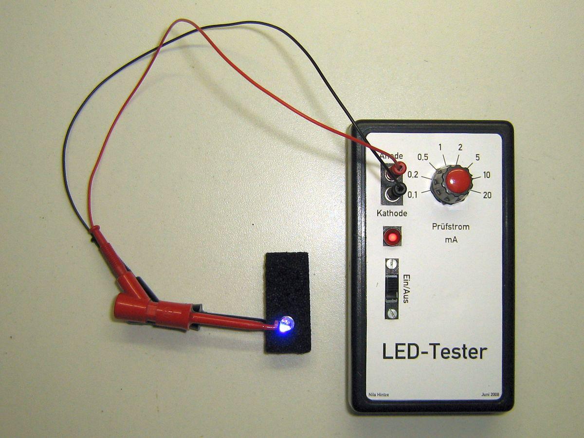 LED-Tester – Elektronikpage