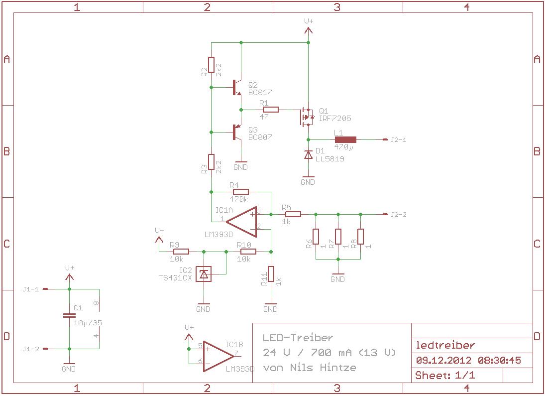LED-Treiber 10 W – Elektronikpage