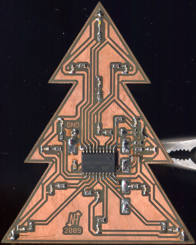 Weihnachtsbaum Drahtgestell.Led Weihnachtsbaum Elektronikpage
